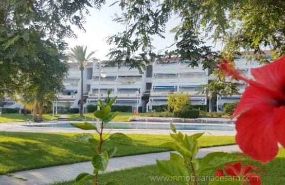 Precioso apartamento en 1ª línea de la Playa de las Fuentes