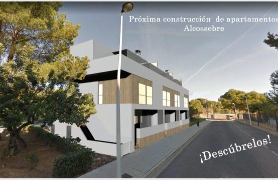 Próxima construcción de Dúplex de 3 habitaciones a 800 mtrs de la playa Cargador