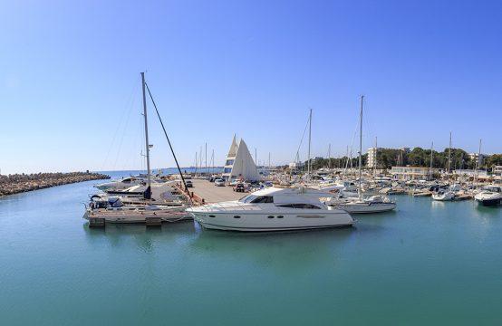 Amarre en el puerto deportivo de Alcossebre