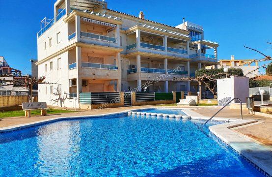 Precioso apartamento con vistas al mar en playa Romana